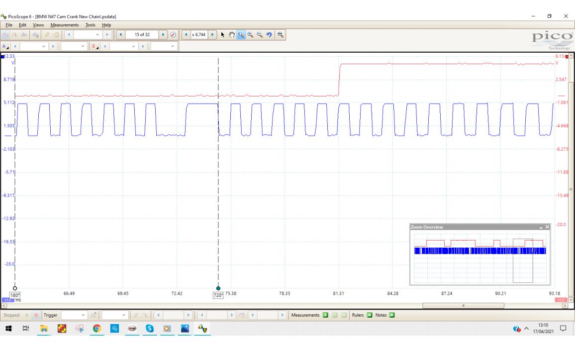Good timing-CKP & CMP signal-BMW-5 E60/E61 2003-2010 : Image 3