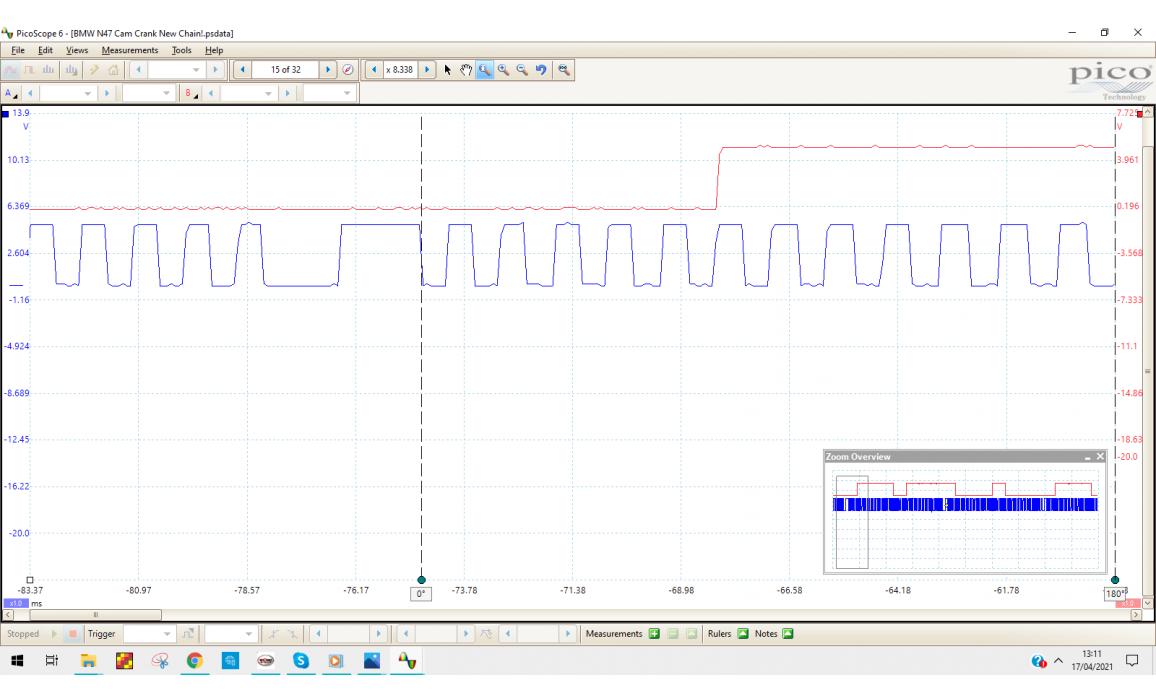 Good timing-CKP & CMP signal-BMW-5 E60/E61 2003-2010 : Image 2
