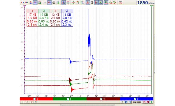 Spark plug broken inside wire - Secondary voltage (Cx pickup clip) - VAZ - 2112 1998-2008 : Image 1
