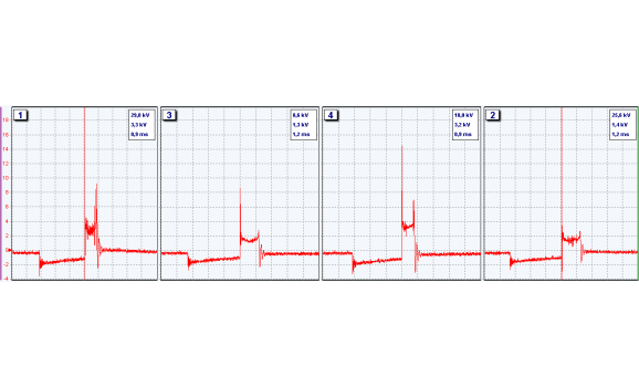 Окисление разъема ВВ провода - Вторичное напряжение (емкостной датчик Cx) - ВАЗ - 2110 1995-2007 : Image 1
