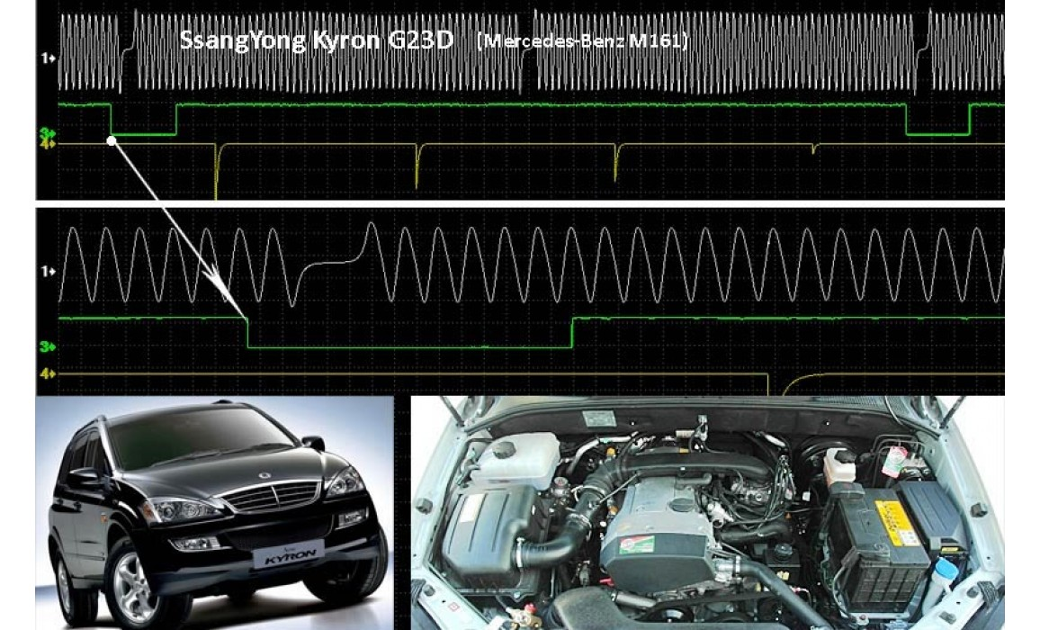 Good timing - CKP & CKM signal - SsangYong - Kyron 2005-2014 : Image 1