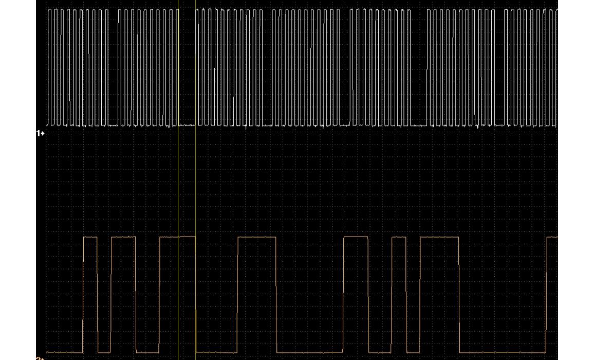 Эталон синхронизации - Сигнал ДПКВ + ДПРВ - Mitsubishi - Outlander 2007–2013 : Image 1