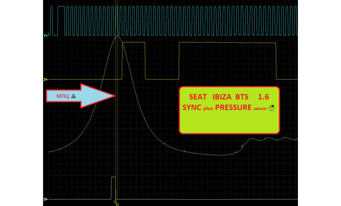 Эталон синхронизации - Сигнал ДПКВ + ДПРВ - Seat - Ibiza 2002-2008 : Image 1
