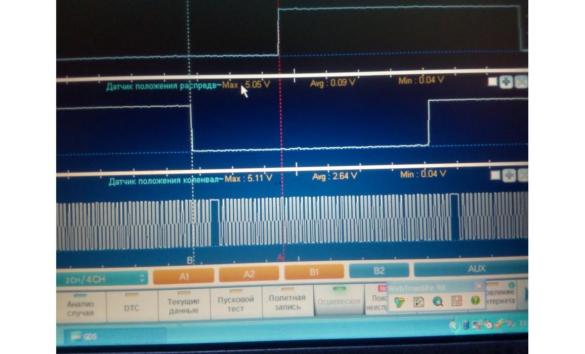 Good timing - CKP & CMP signal - Dodge - Caliber SXT 2006-2012 : Image 1