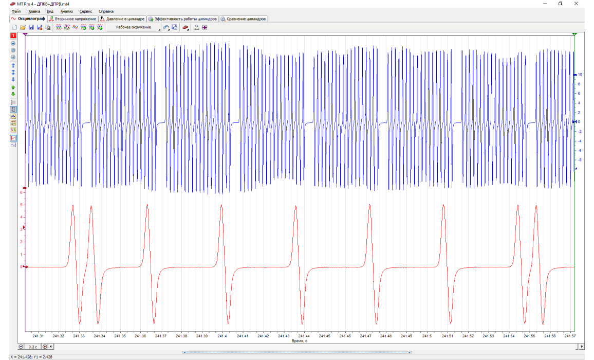 Good timing - CKP & CMP signal - DAF - XF 95 1997-2002 : Image 1