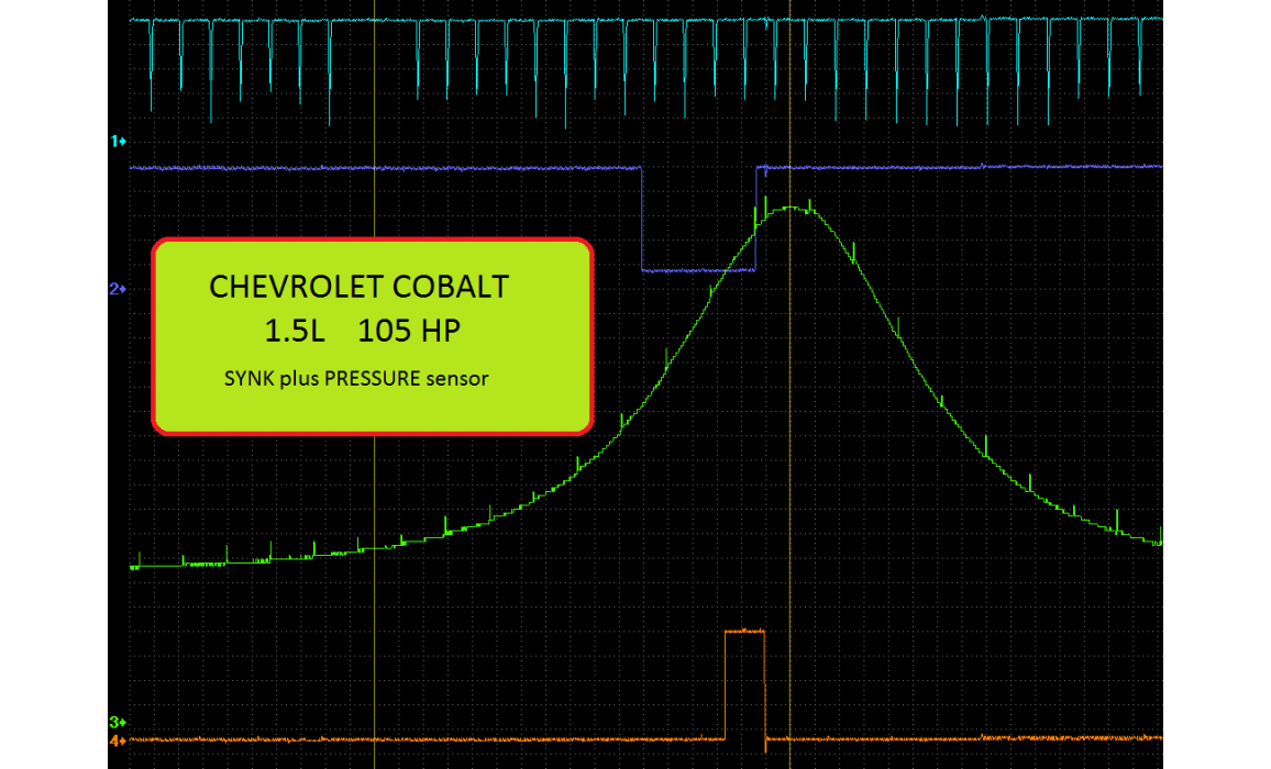 Good timing - CKP & CKM signal - Chevrolet - Cobalt 2013- : Image 1