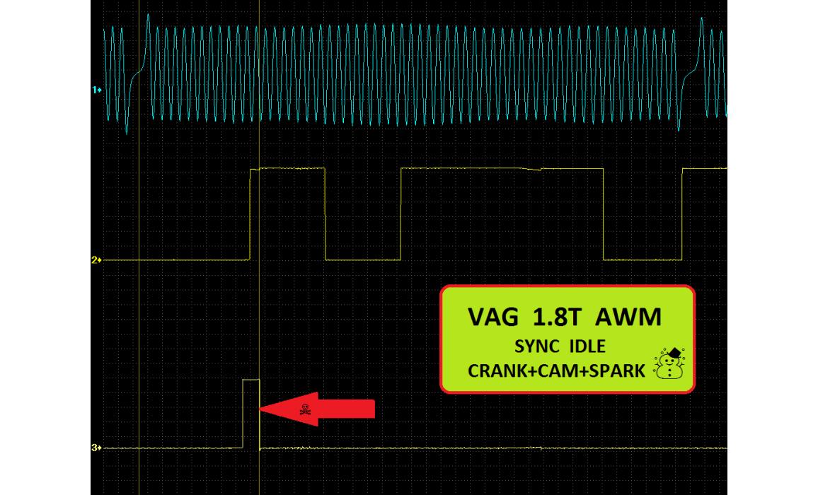 Good timing - CKP & CKM signal - VW - Passat B5 1996-2006 : Image 1