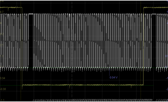 Эталон синхронизации - Сигнал ДПКВ + ДПРВ - Hyundai - Tucson 2004-2009 : Image 1