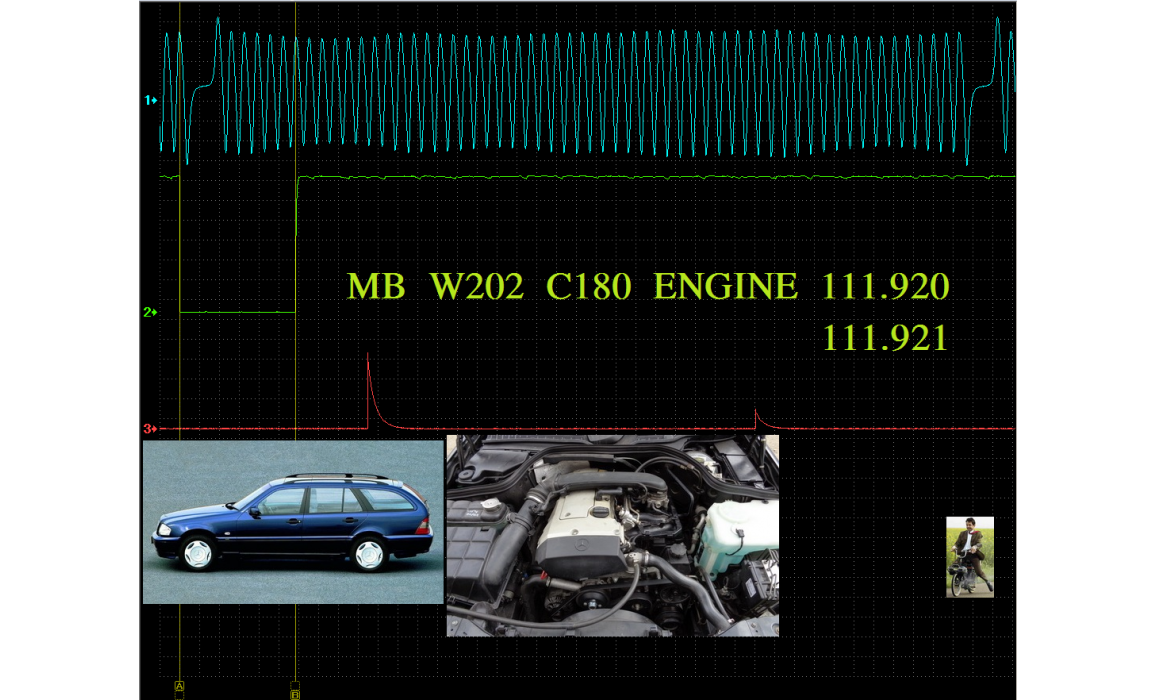 Good timing - CKP & CKM signal - Mercedes - W202 1994-2000 : Image 1