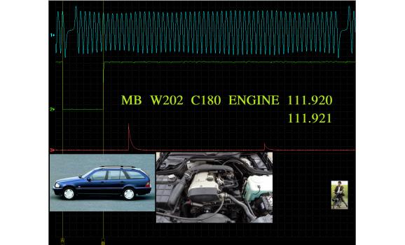Эталон синхронизации - Сигнал ДПКВ + ДПРВ - Mercedes - W202 1994-2000 : Image 1