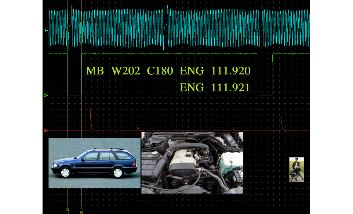 Good timing - CKP & CKM signal - Mercedes - W202 1994-2000 : Image 2