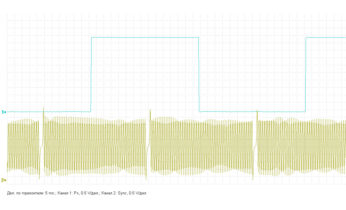 Эталон синхронизации - Сигнал ДПКВ + ДПРВ - Skoda - Fabia 1999-2007 : Image 2