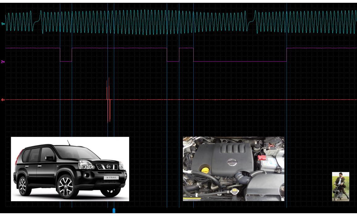 Good timing-CKP & CMP signal-Nissan-X-Trail 2007-2013 : Image 1