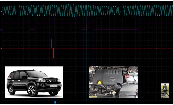 Good timing-CKP & CMP signal-Nissan-X-Trail 2007-2013 : Image 1
