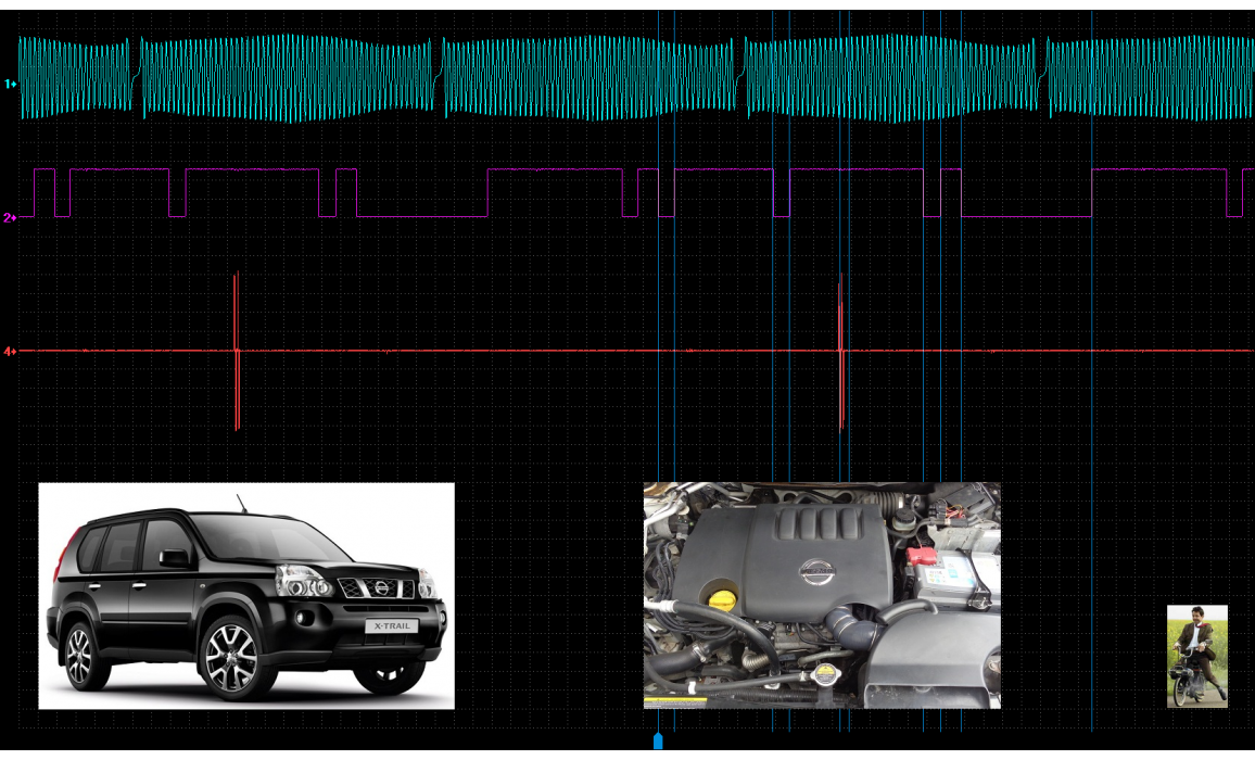 Good timing-CKP & CMP signal-Nissan-X-Trail 2007-2013 : Image 2