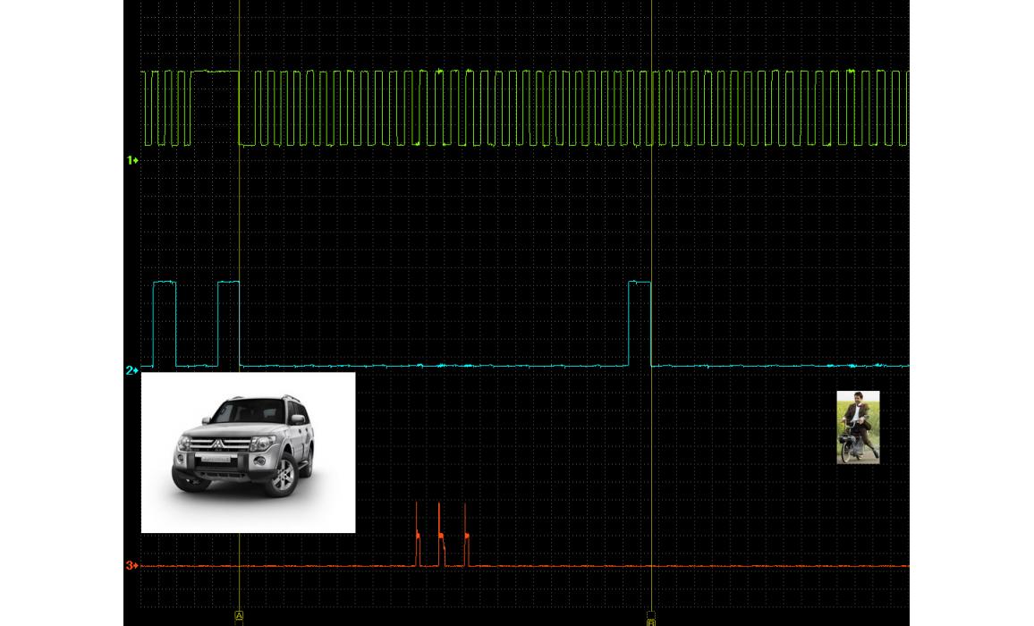Good timing - CKP & CKM signal - Mitsubishi - Pajero 2006– : Image 1