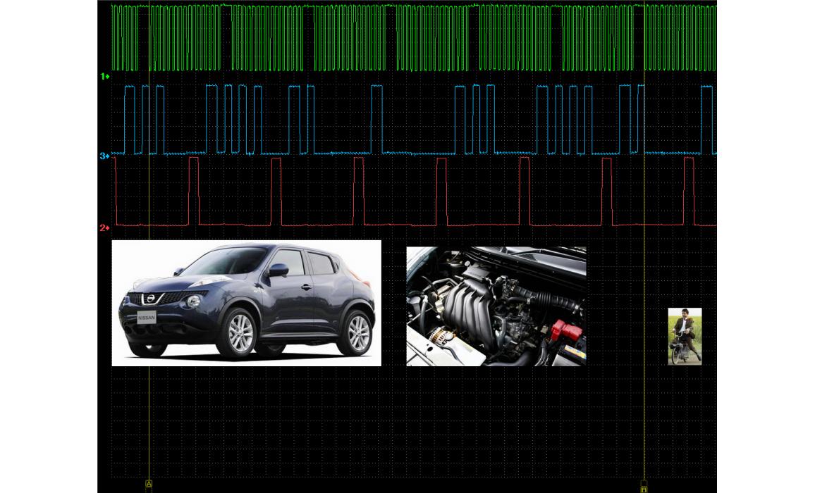 Good timing - CKP & CKM signal - Nissan - Juke 2010- : Image 1