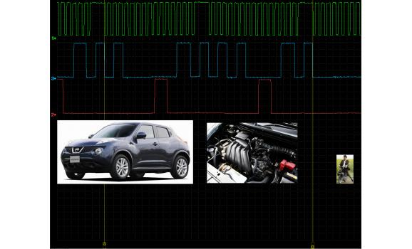 Эталон синхронизации - Сигнал ДПКВ + ДПРВ - Nissan - Juke 2010- : Image 1