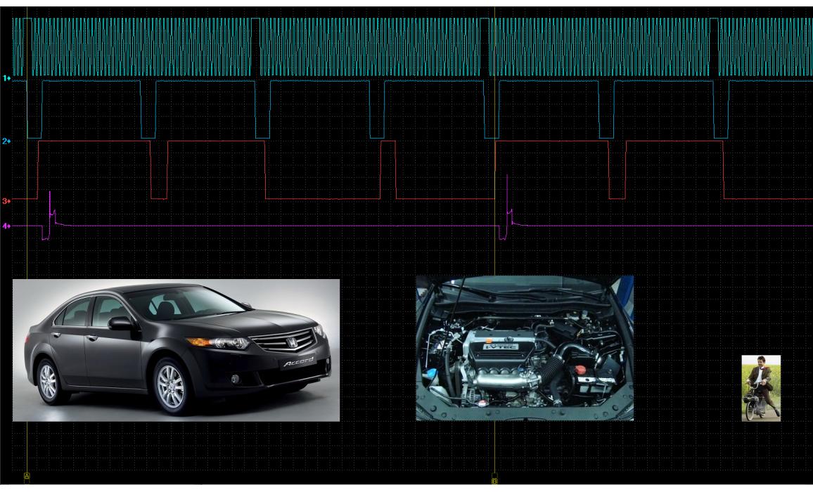 Эталон синхронизации - Сигнал ДПКВ + ДПРВ - Honda - Accord 2003-2007 : Image 2