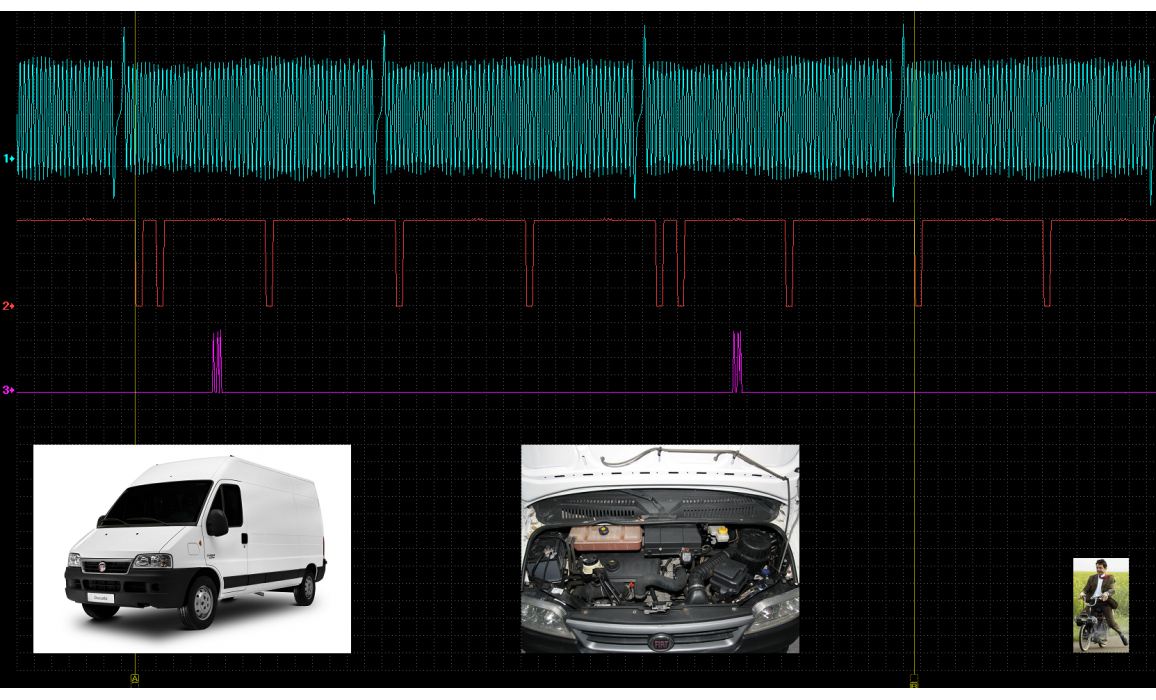 Эталон синхронизации - Сигнал ДПКВ + ДПРВ - Fiat - Ducato 1993-2006 : Image 2
