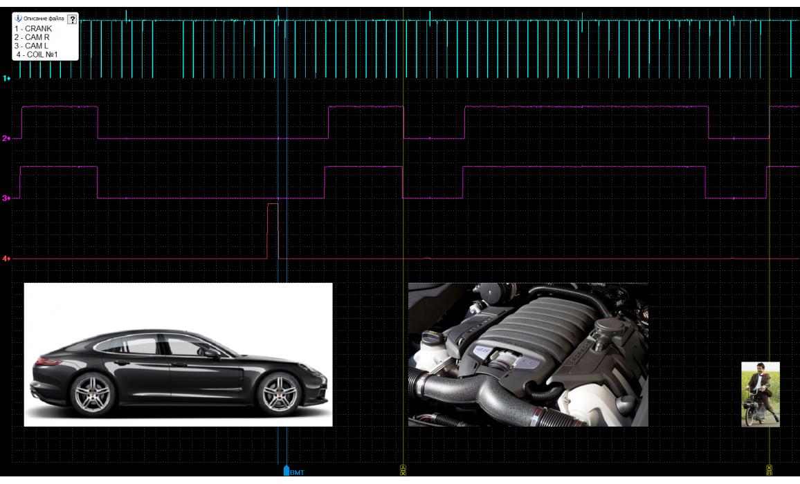 Good timing - CKP & CKM signal - Porsche - Panamera 2009- : Image 1