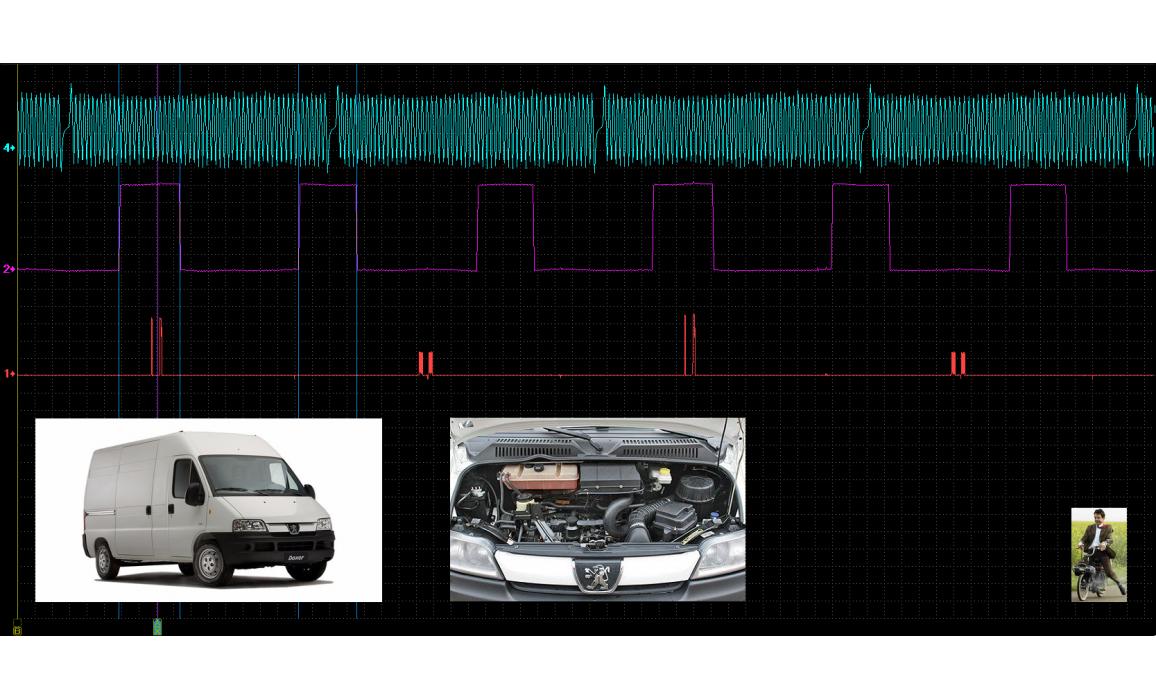 Эталон синхронизации - Сигнал ДПКВ + ДПРВ - Peugeot - Boxer 1993-2006 : Image 2