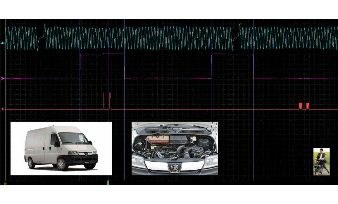 Эталон синхронизации - Сигнал ДПКВ + ДПРВ - Peugeot - Boxer 1993-2006 : Image 1