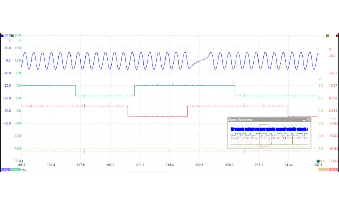 Эталон синхронизации - Сигнал ДПКВ + ДПРВ - Toyota - Camry 2011-2017 : Image 2