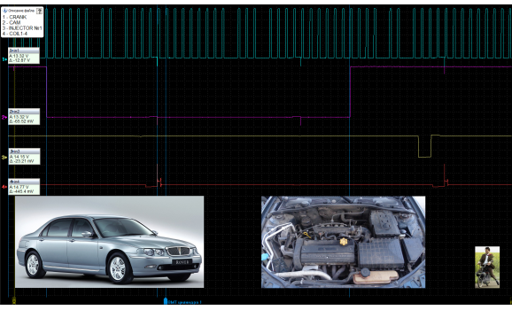 Good timing - CKP & CKM signal - Rover - 75 : Image 1