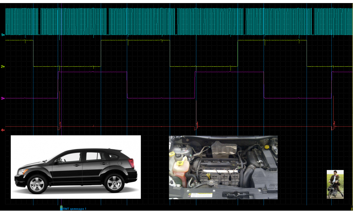 Good timing - CKP & CKM signal - Dodge - Caliber SXT 2006-2012 : Image 3