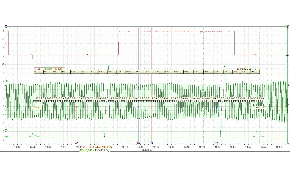 Эталон синхронизации - Сигнал ДПКВ + ДПРВ - Opel - Omega B2 1999-2003 : Image 2