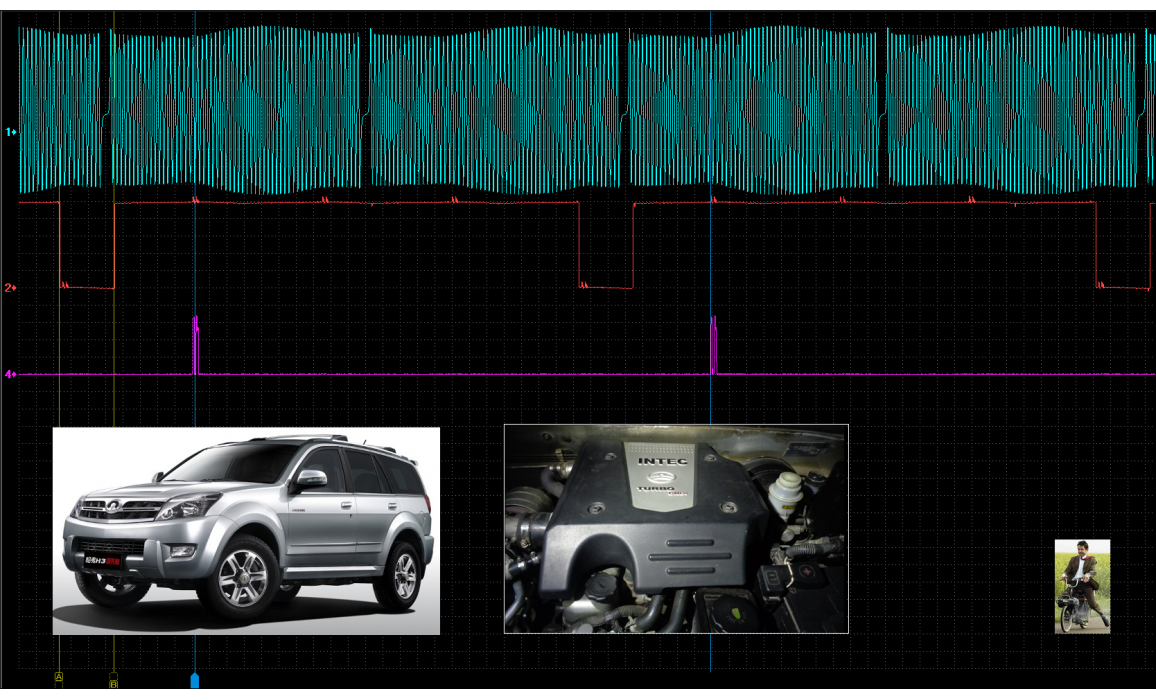 Эталон синхронизации - Сигнал ДПКВ + ДПРВ - Great Wall - Hover H3 2005-2012 : Image 2