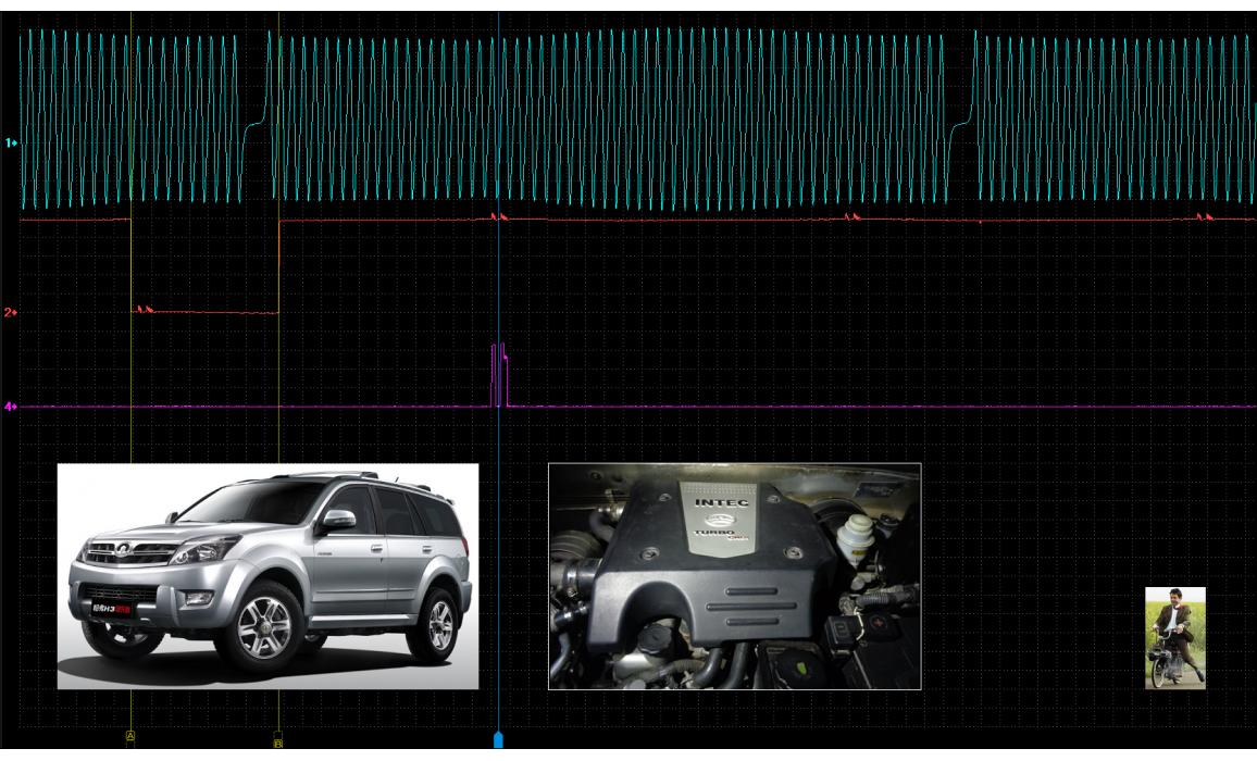 Эталон синхронизации - Сигнал ДПКВ + ДПРВ - Great Wall - Hover H3 2005-2012 : Image 1