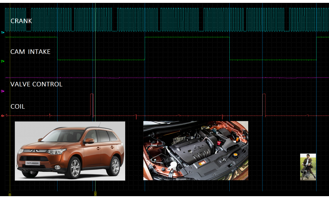 Good timing - CKP & CKM signal - Mitsubishi - ASX 2010- : Image 2