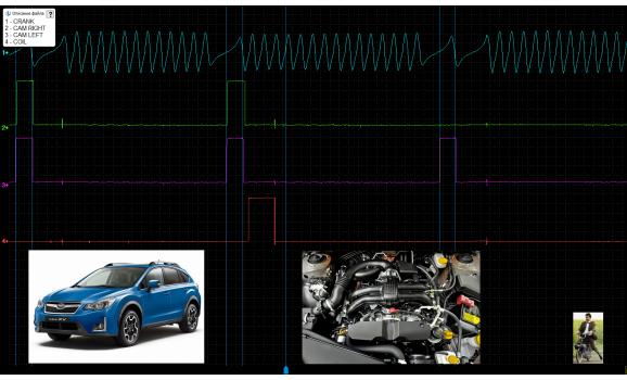 Good timing - CKP & CKM signal - Subaru - XV 2011- : Image 4