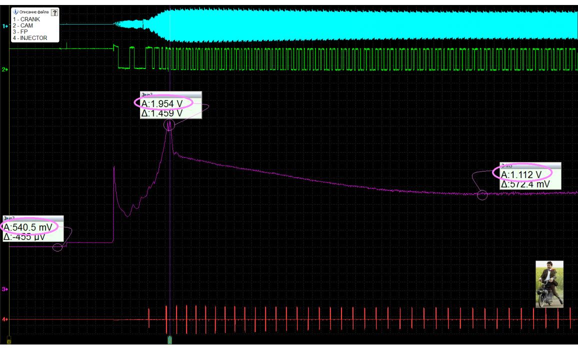 Эталон - Выходное напряжение - Hyundai - ix55 2006-2012 : Image 1