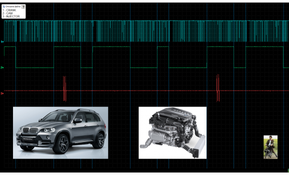 Good timing - CKP & CKM signal - BMW - X5 E53 1999 - 2006 : Image 1