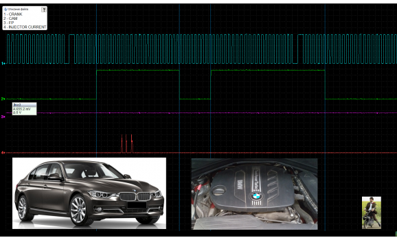 Good timing - CKP & CKM signal - BMW - 1 F20/F21 2011- : Image 1