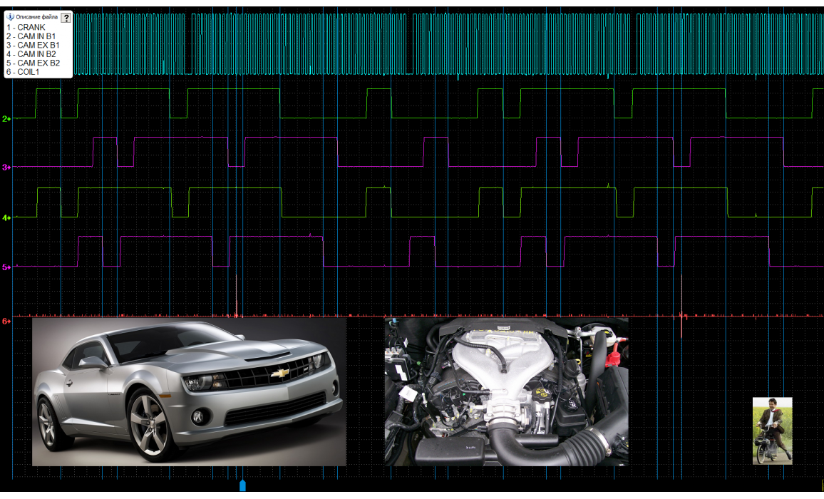 Good timing - CKP & CKM signal - Chevrolet - Camaro 2010-2015 : Image 3