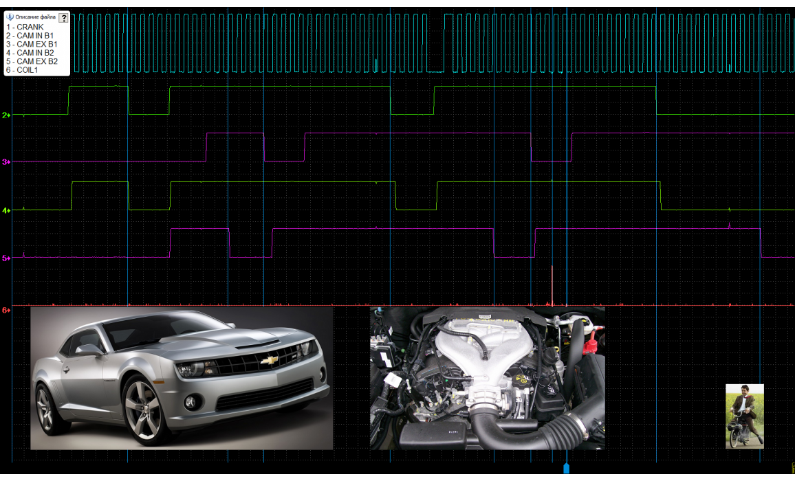 Good timing - CKP & CKM signal - Chevrolet - Camaro 2010-2015 : Image 4