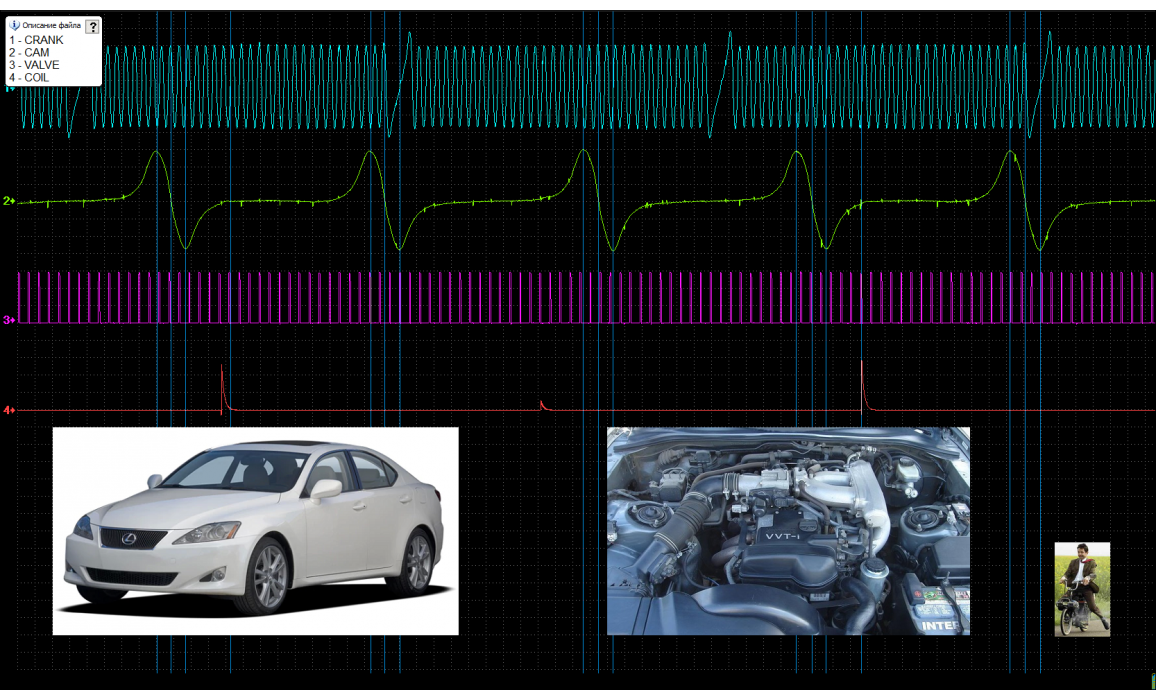 Good timing - CKP & CKM signal - Lexus - IS300 1998-2005 : Image 1