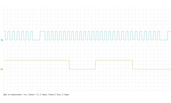 Эталон синхронизации - Сигнал ДПКВ + ДПРВ - VW - Caddy 2004- : Image 1