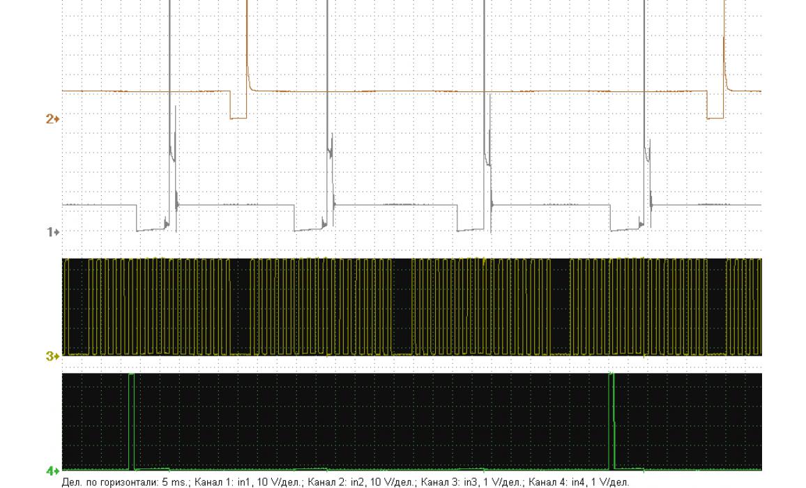 Эталон синхронизации - Сигнал ДПКВ + ДПРВ - Daewoo - Matiz 2000-2004 : Image 1