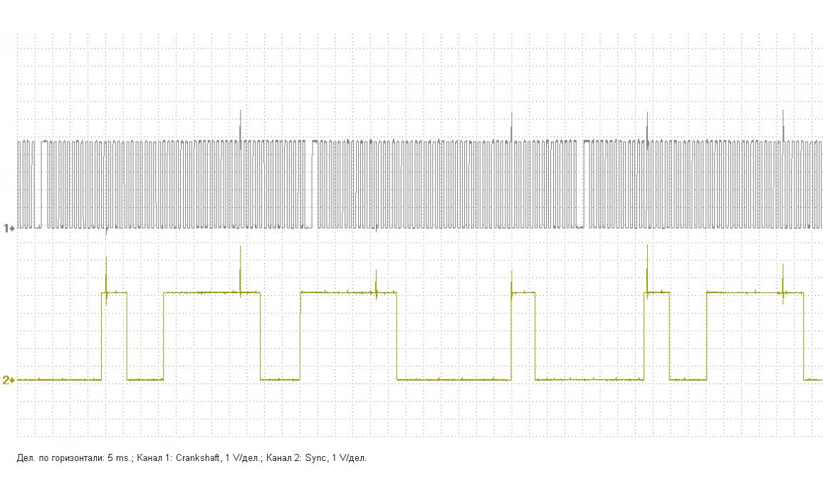Good timing - CKP & CKM signal - VW - Polo Mk4 2002-2009 : Image 2