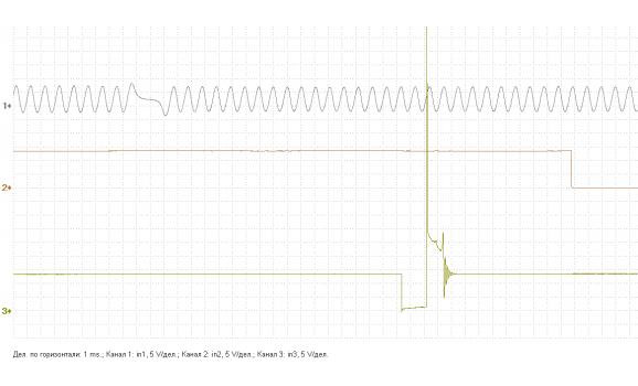 Эталон синхронизации - Сигнал ДПКВ + ДПРВ - KIA - Cee'd 2006-2012 : Image 2
