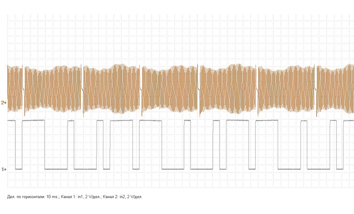 Эталон синхронизации - Сигнал ДПКВ + ДПРВ - Chery - Elara 2006- : Image 2