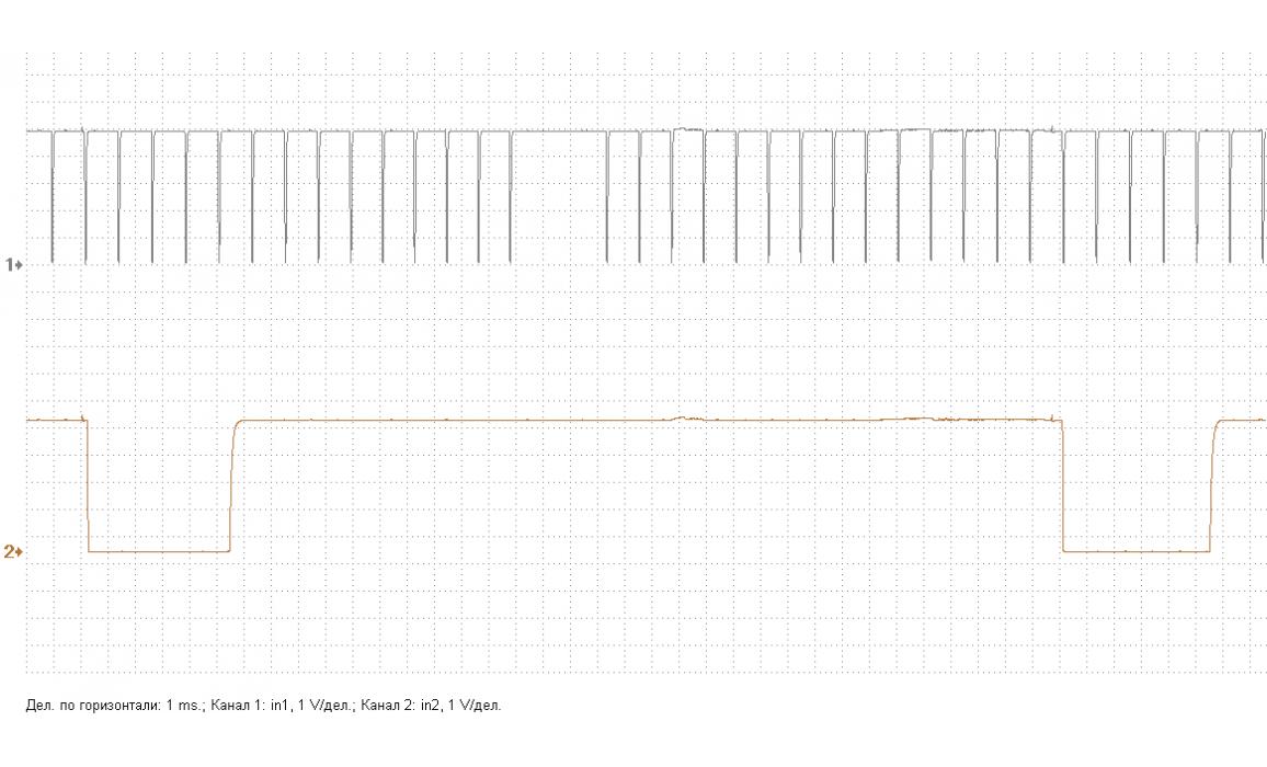 Эталон синхронизации - Сигнал ДПКВ + ДПРВ - Nissan - Qashqai 2013- : Image 1