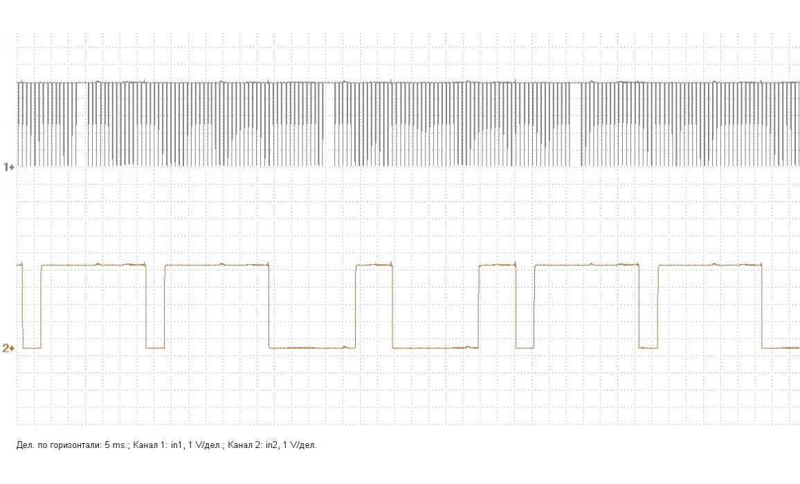 Эталон синхронизации - Сигнал ДПКВ + ДПРВ - Nissan - Qashqai 2013- : Image 2