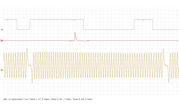 Эталон синхронизации - Сигнал ДПКВ + ДПРВ - Lifan - X60 2011- : Image 1