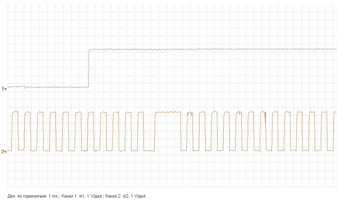 Эталон синхронизации - Сигнал ДПКВ + ДПРВ - KIA - Magentis 2005-2010 : Image 1